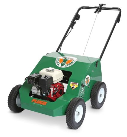 Billy Goat PL2500H Aerator with four-stroke engine