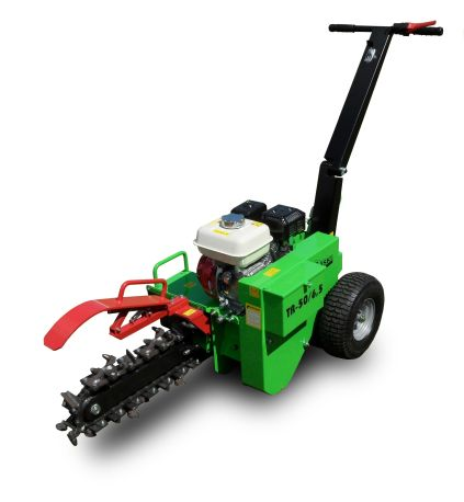 Laski TR50/GX200 Trencher with 5,5 HP four-stroke engine