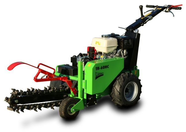 Laski TR60H/GX390 Trencher with 11,7 HP four-strok engine