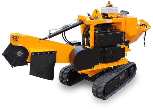 Laski PREDATOR P38M Stump cutter on crawler chains - 35,0 hp