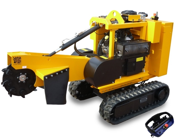 Laski PREDATOR P38R Stump cutter on crawler chains - 35,0 hp