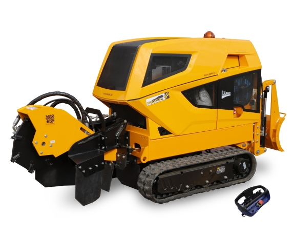 Laski PREDATOR P56RX Stump cutter on crawler chains - 56,0 hp