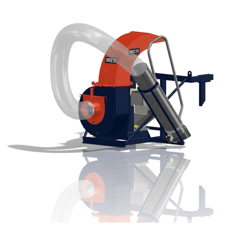 Trilo SU40T Compact vacuum unit with frame