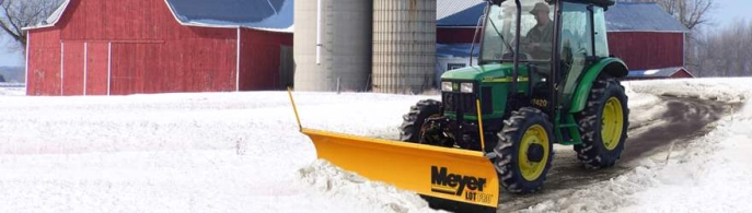 "Snow plough for compact vehicles from ±750kg Meyer Lot Pro 9'0"" H2"