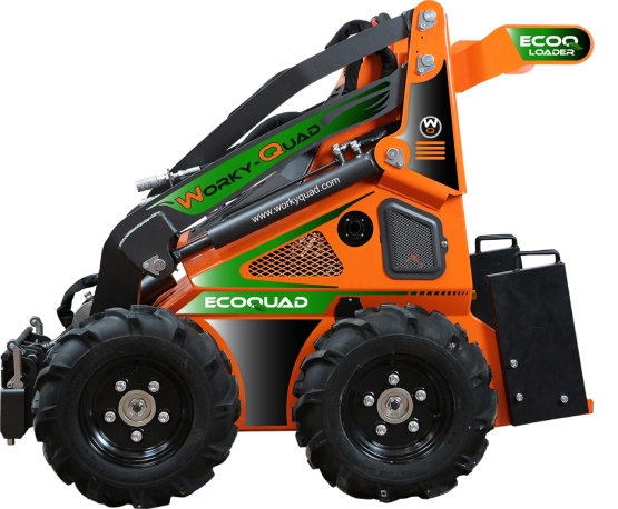 Cast Worky-Quad SSQ EcoQuad Chargeur Skid steer