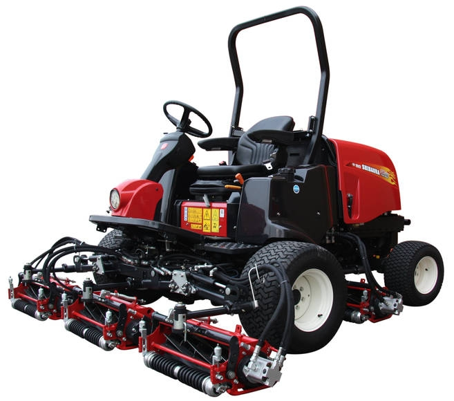 Shibaura SR888 Fairway reel mower