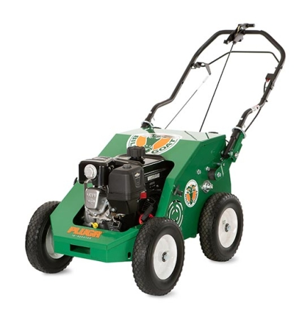 Billy Goat PL1801H Aerator with four-stroke engine